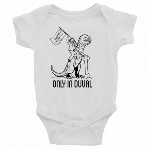 Only-In-Duval-Baby-Onesie